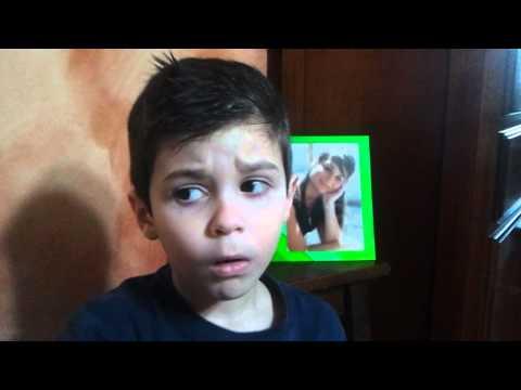 Marco a 3 anni canta sulle ali del mondo di Pierdavide Carone
