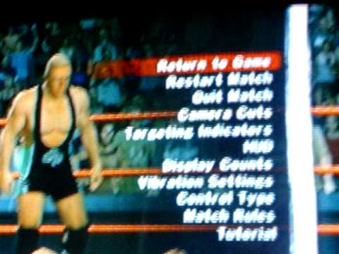 How To Summon Hornswoggle In SVR 2009 on PS2