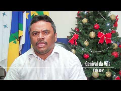 Mensagem de Natal do vereador Genival da Vila