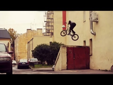 RUSSIAN BMX - NIKITA ZHARKOV - UNTIL IT'S DRY FIVE
