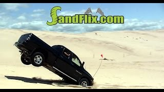 Off Road Vehicles At Silver Lake Sand Dunes In Michigan