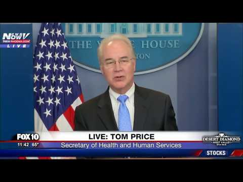 FULL: Tom Price Unveils TrumpCare For All Americans