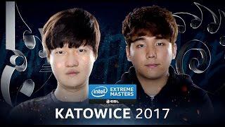 StarCraft II - Stats vs. Dark [PvZ] - Semifinal - IEM Katowice 2017 [1/2]