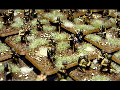 The Basics: Painting 15mm US Infantry