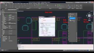 Working with Tool Palettes in AutoCad