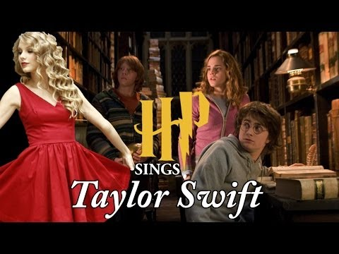 Harry Potter sings Taylor Swift
