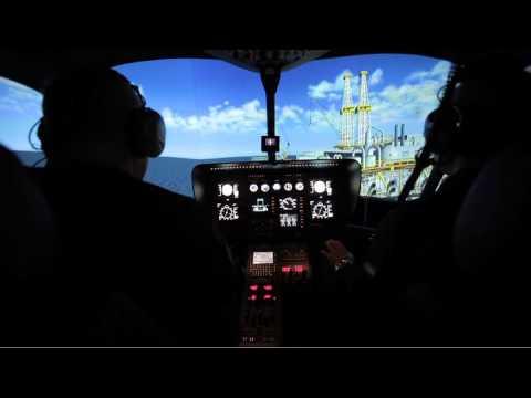 entrol H11 / EC-135 FNPT II MCC Simulator - Offshore Landing