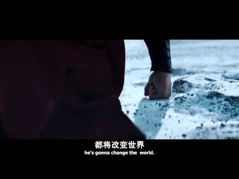 Man of steel - official trailer#2《超人:鋼鐵之軀》全新預告