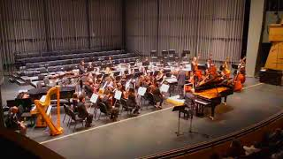 CSUN Symphony, Philip Glass, Piano Concerto No. 2, Movement 1