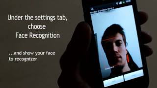 Mobile face recognition - Visidon AppLock for Android