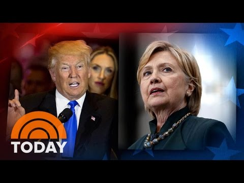 Hillary Clinton Blasts Donald Trump For Bill Clinton 'Rape' Allegation | TODAY
