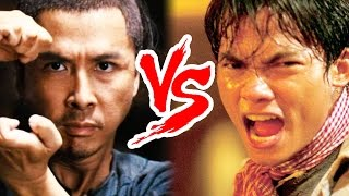MARTIAL ARTS LEGENDS - TONY JAA vs DONNIE YEN