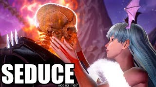 Marvel vs. Capcom: Infinite - Ghost Rider and Morrigan Scene