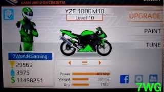 Drag Racing Bike Edition: How To Tune A Level 10 YZF 1000 6.693s 1/4 mile!