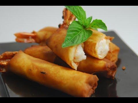 Shrimp Spring Rolls | New Season | Cooksmart | Sanjeev Kapoor Khazana