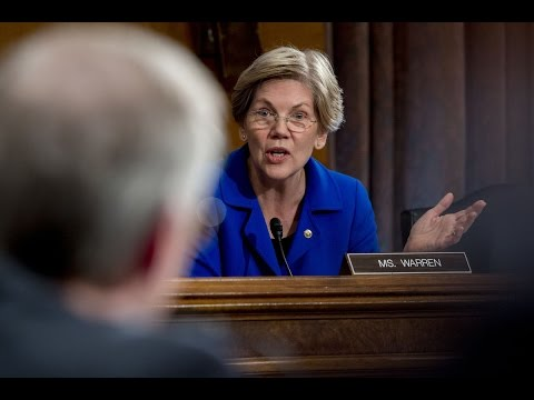 Elizabeth Warren Blasts New York Fed President
