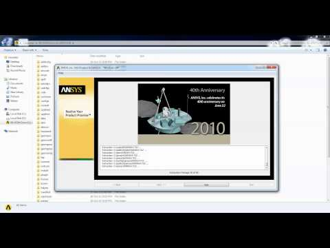 Ansys14 installation