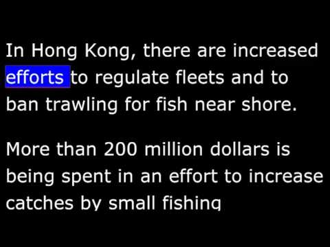 Overfishing Threatens Asia's Wild Fish Stocks -  VOA Special English Agriculture Report.