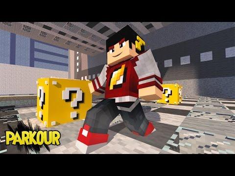 Minecraft: PARKOUR - ESTOU DE PONTA CABEÇA ‹ AM3NIC ›