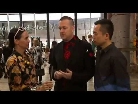 International buyers at MBFWA Spring/Summer 2014/2015 - ABC News 24