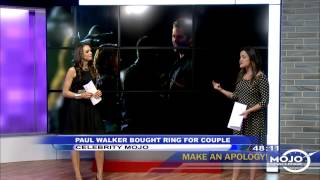 Paul Walker Bought Ring For Couple