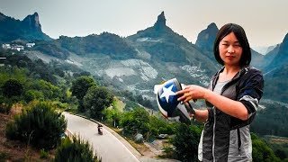 Guilin China - Epic Scooter Tour & Beautiful Drone Footage