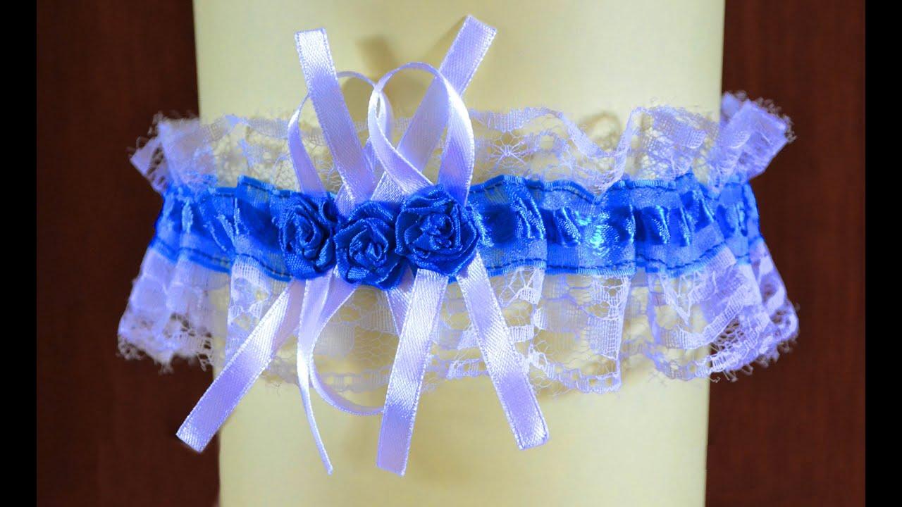Подвязка невесте своими руками мастер класс