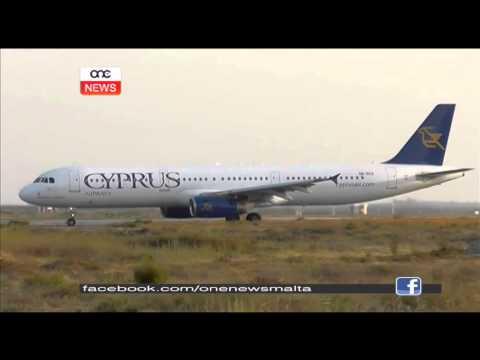 L-aħħar titjira għal Cyprus Airways