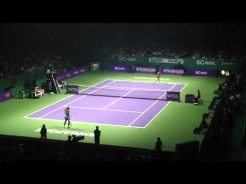 WTA Finals: Serena Williams vs Ana Ivanovic
