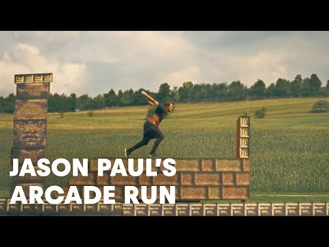 Jason Paul Arcade Run - Freerunning in 8bit