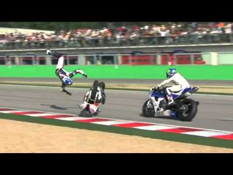 Superbike Crash Compilation 2011