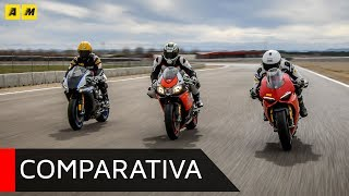 Supersportive 2018: Ducati Panigale V4S sfida Aprilia RSV4RF e Yamaha YZF-R1M [ENGLISH SUB]