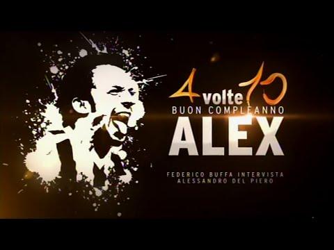 4 volte 10 | Buon compleanno Alex | Federico Buffa intervista Alessandro Del Piero
