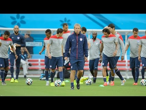 Jurgen Klinsmann and #USMNT Look Forward to Match against Germany