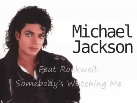 Michael Jackson Feat Rockwell   Somebody's Watching Me Hq. video