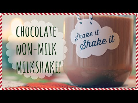 Healthy DIY Chocolate Smoothie Recipe!