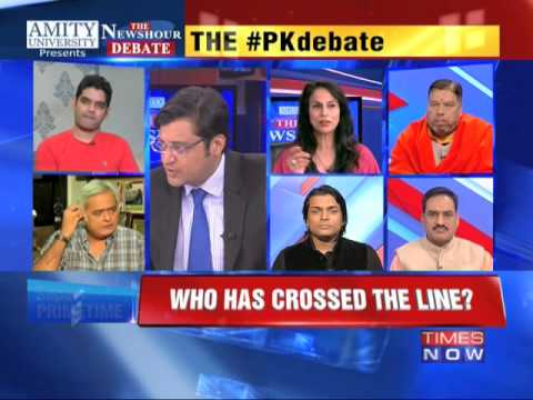 The Newshour Debate: The PK Debate: Who Crossed The Line? - Part 1 (29th Dec 2014)