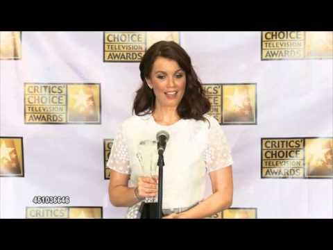 Bellamy Young - Backstage at the Critics Choice Awards