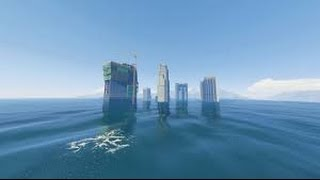 TSUNAMI DISASTER MOD (GTA 5 Mods Funny Moments)