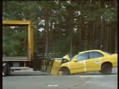 Vehicle Crash Testing Crash Cushion Large Vehicle