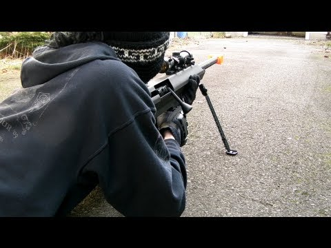 Barrett M99 Accuracy Test (Snow Wolf)
