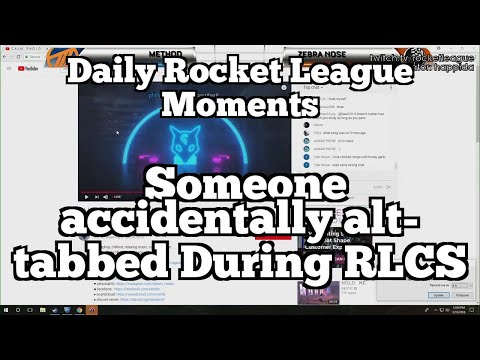 Daily Rocket League Moments: Someone accidentally alt-tabbed During RLCS