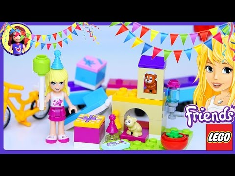 Lego Friends Party Train Set Build Review Play - Kids Toys