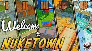 Evolution of Nuketown (Nuketown Easter Eggs in Every CoD) | BO1-BO4