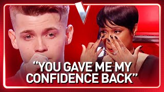 Download lagu INSECURE 19-Year-Old boy quits his job and becomes a real SUPER STAR in The Voice | Journey #59