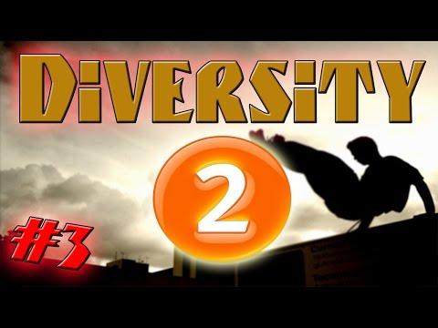 Технологичный паркур - Diversity 2 - Minecraft