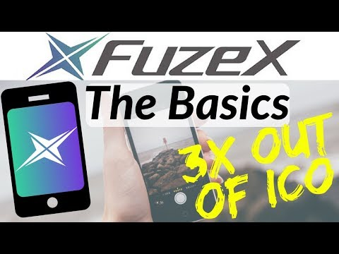 Fuzex Debut (FXT) 3x out of ICO [The Basics]