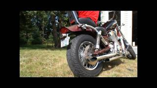 Suzuki Intruder 1400 - Cobra Drag Pipes Exhaust - Without Baffles