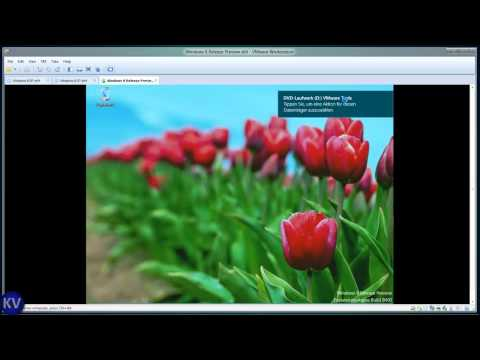 VMWare Workstation 8 - Virtuelle Maschine erstellen (Windows 8 Release Preview)