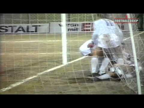 1/4 КОК 1985/1986 Рапид-Динамо Киев 1-4